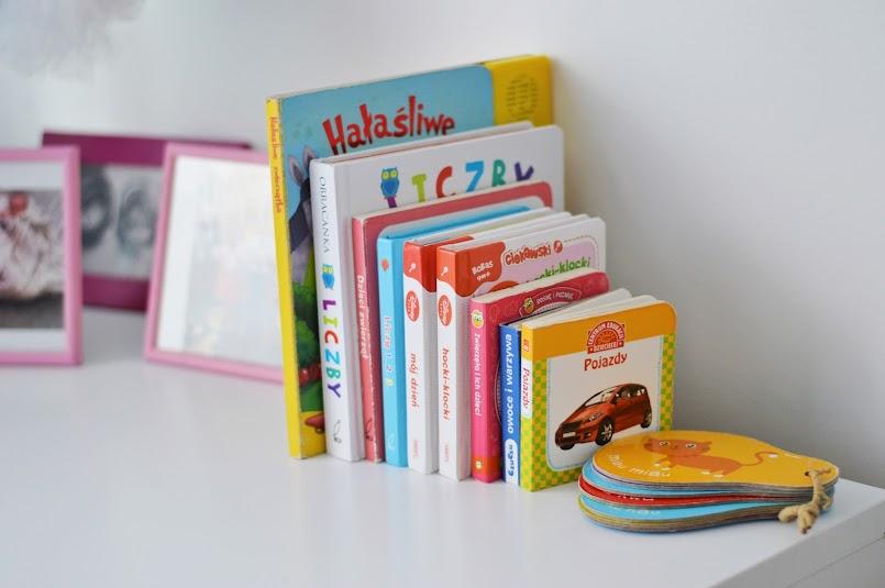 #NaszaBiblioteczka - pierwsze ulubione książeczki