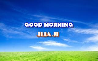 gud morning jiju