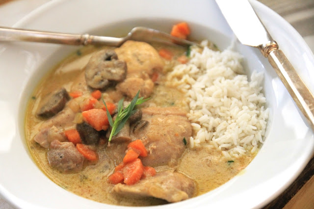 Jenny Steffens Hobick: Chicken Fricassee | Carrots ...