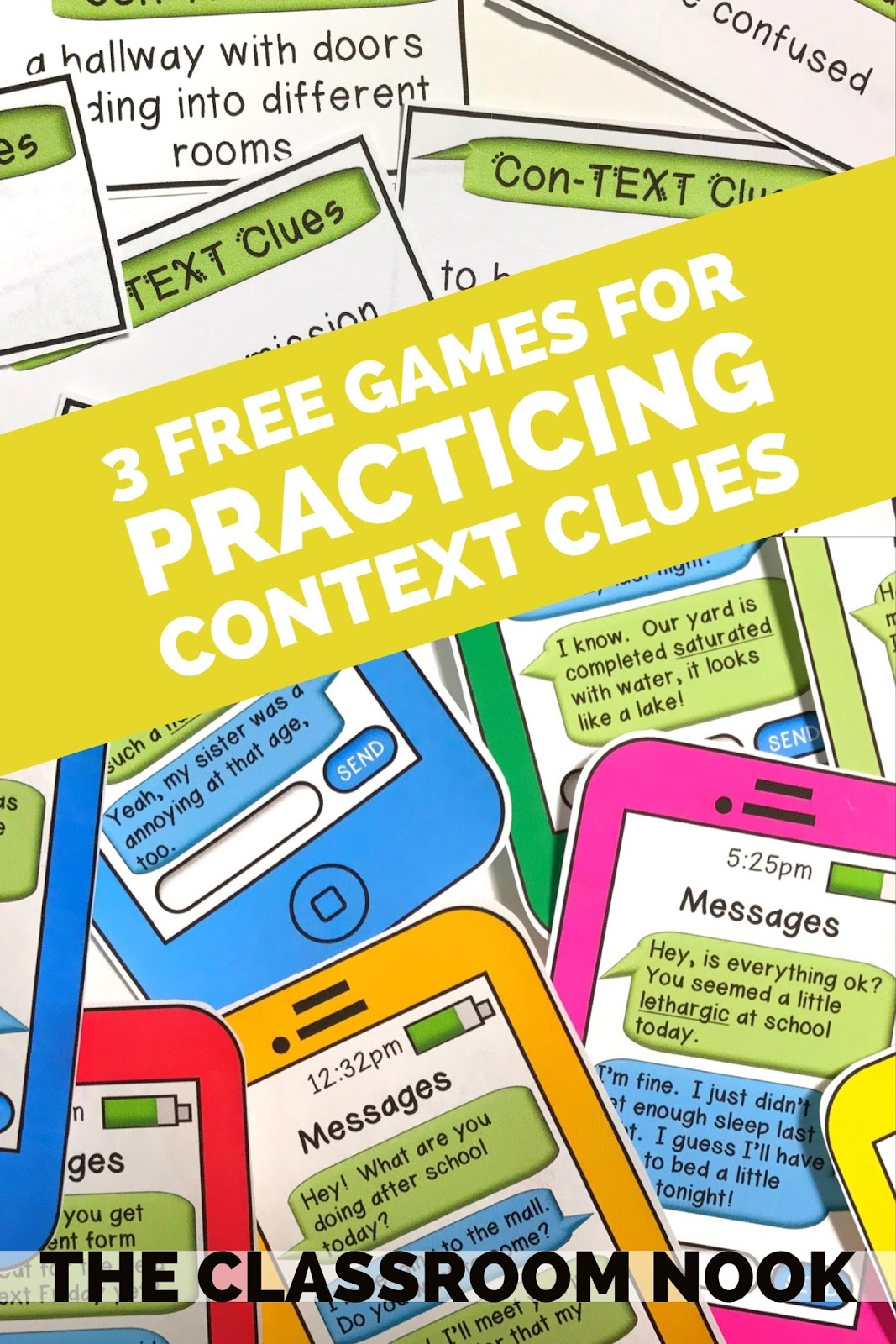 Teacher S Toolkit 3 Free Games To Help Students Practice Using Context Clues