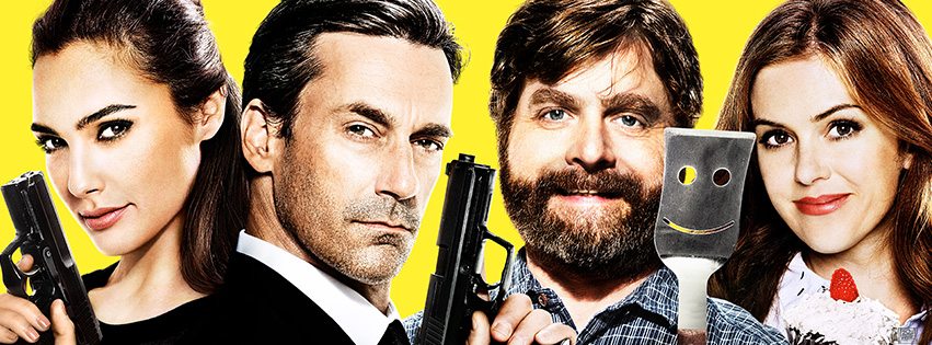 zach galifianakis jon hamm isla fisher and gal gadot join forces