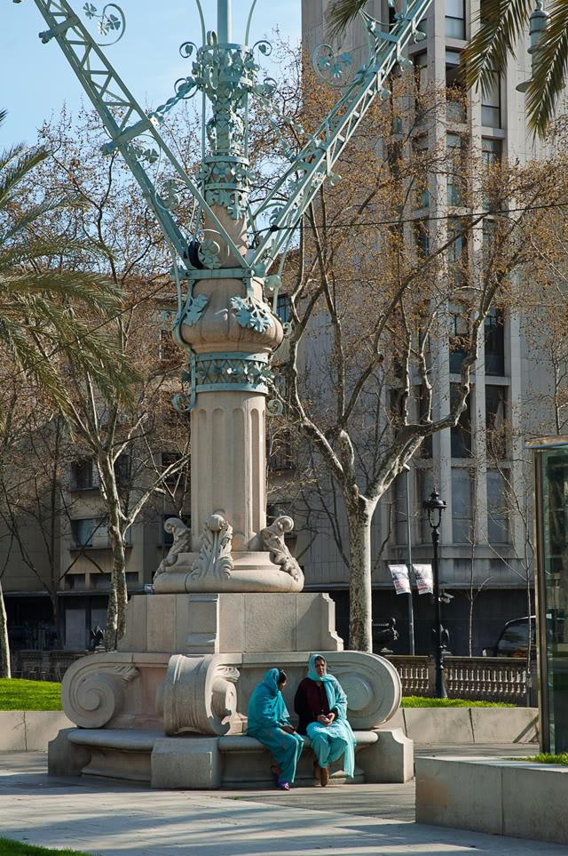 Faithful Friends, Passeig de Lluis Companys, Barcelona
