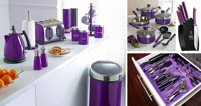 Beautiful Purple Kitchen Tools
