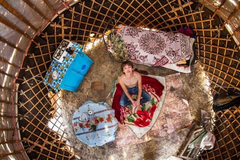 غرفة نوم من جامبيل - كازاخستان