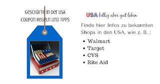 Wie coupont man in Walmart, Target, CVS, Rite Aid und Walgreens
