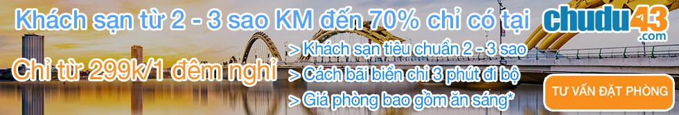 chudu43.com, Khuyen mai khach san, Khach san Da Nang gia re
