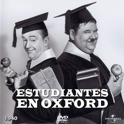 Estudiantes en Oxford (Laurel & Hardy) - [1940]