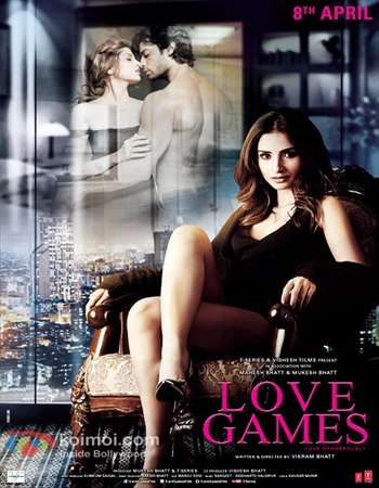 Poster Of Love Games 2016 Hindi 700MB DVDScr x264 Free Download Watch Online
