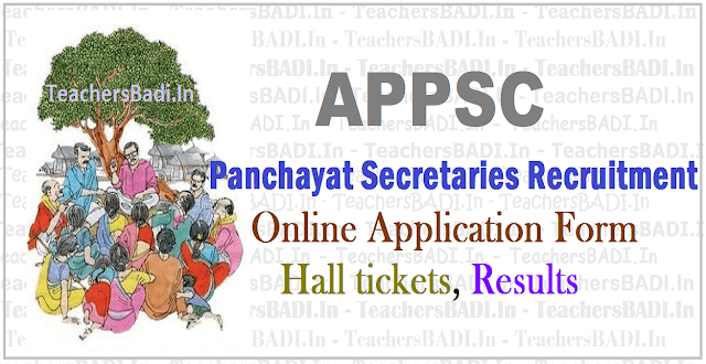 APPSC Group-III posts,Panchayat Raj Secretaries,Recruitment
