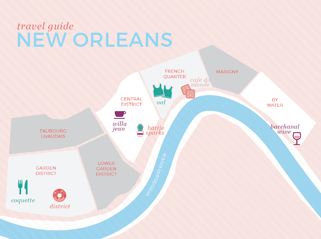 where to go in New Orleans, Travel Guide NOLA, Cafe Du Monde, Willa Jean