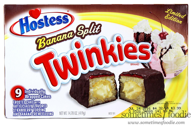 Limited Edition Banana Split Twinkies