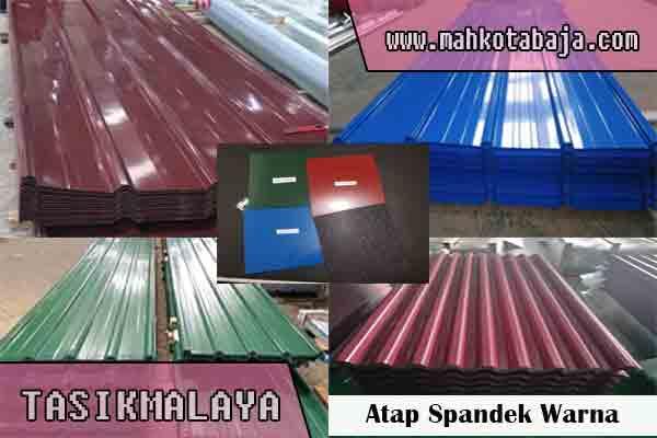 harga atap spandek warna Tasikmalaya
