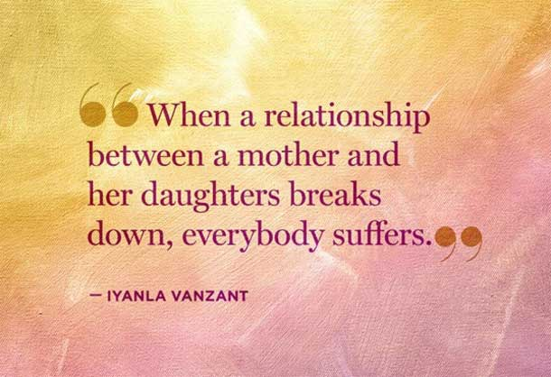 relationship between a mother and her daughter family quotes