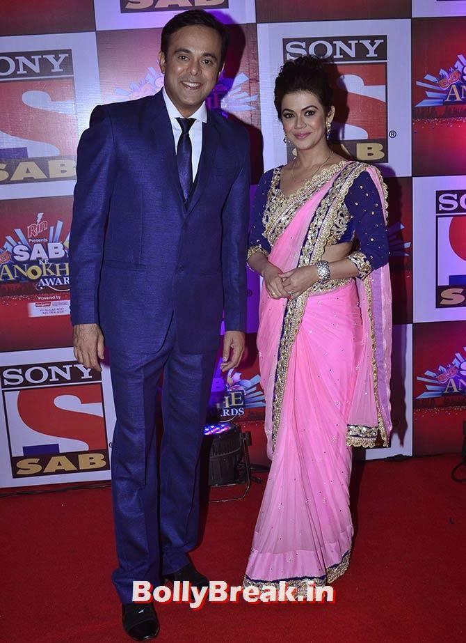 Sumeet Raghvan and Shweta Gulati, SAB Ke Anokhe Awards Photo Gallery