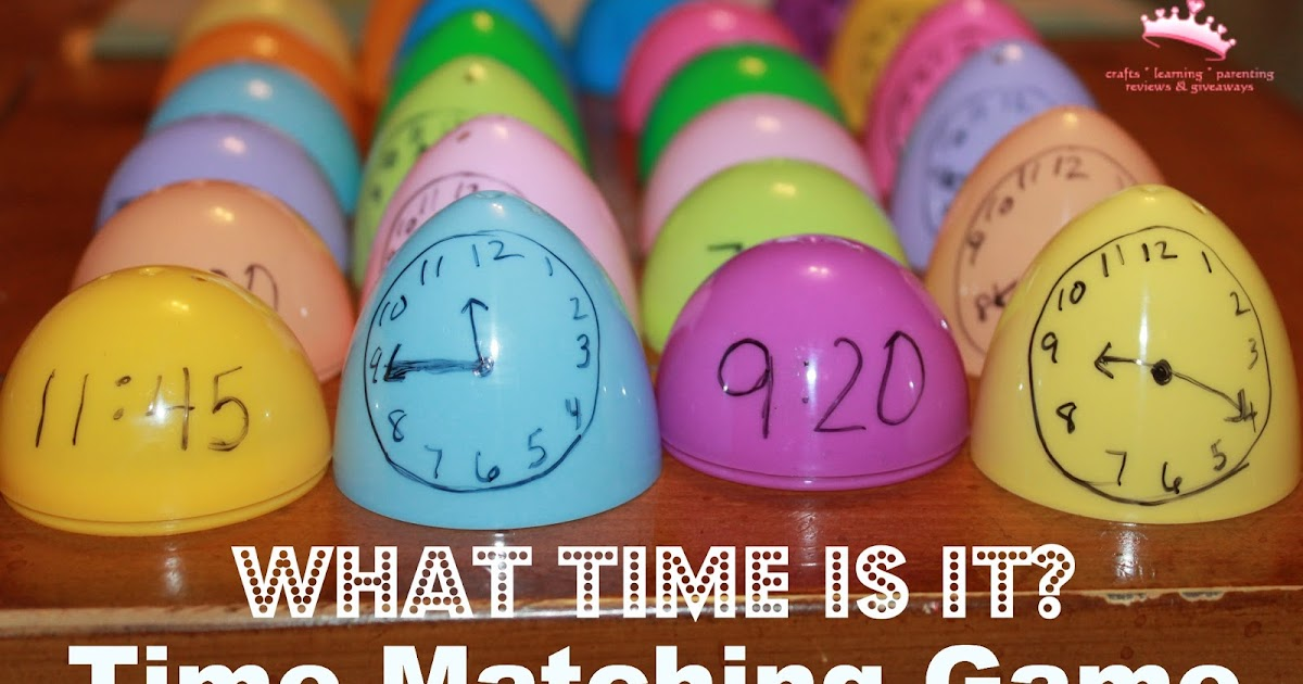 Mom to 2 Posh Lil Divas: What Time Is It? - A Telling Time