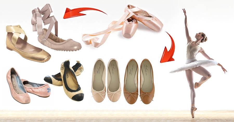 Sepatu flat pilihan wanita