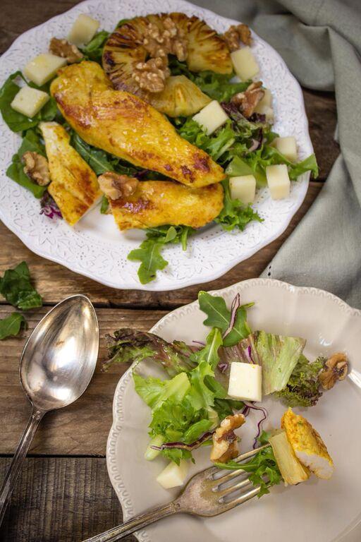 ensalada-pollo-pina-nueces
