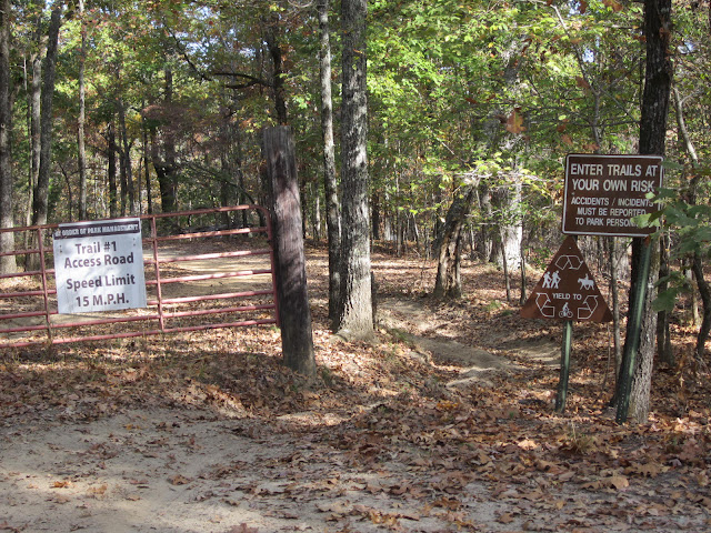 Trace State Park ORV trail
