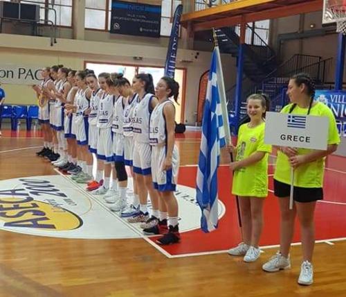 ΕΟΚ | Εθνική Παγκορασίδων Τουρνουά Φιλίας: Γαλλία-Ελλάδα 63-51