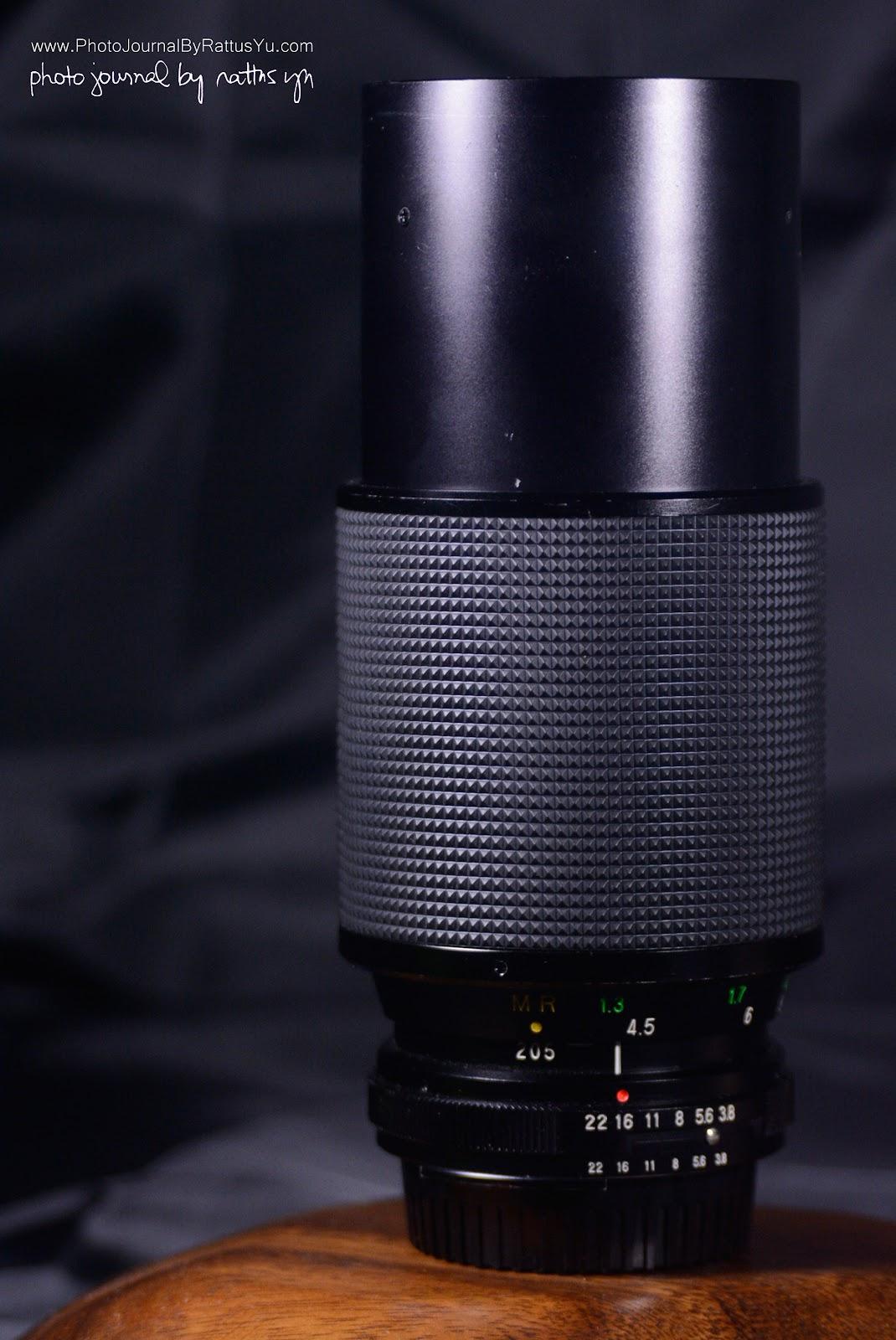 Vivitar 75-205mm f/3.8 MC Macro Focusing Zoom by Kino Precision
