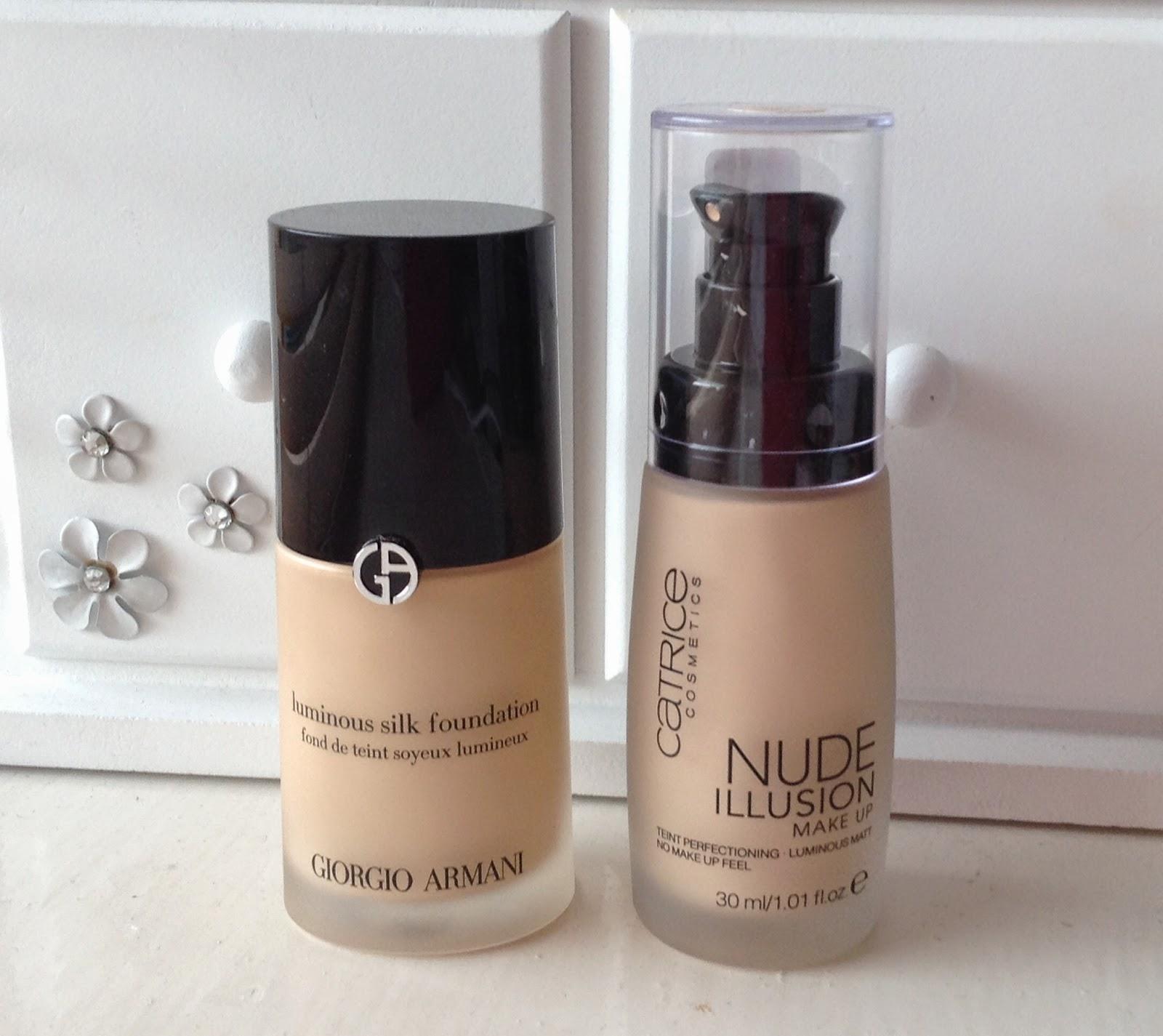 NEW- Catrice Nude Illusion Foundation- dupe for Giorgio ...