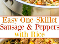 Easy One-Skillet Sausage and Peppers with Rice Recipe