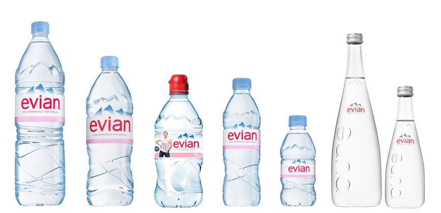 evian branding