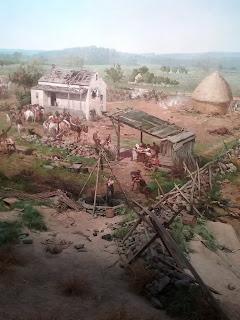 Detail of Gettysburg Cyclorama