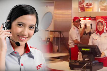 Lowongan Kerja Cew Restaurant PT Fast Food Indonesia Tbk (KFC Indonesia) Tingkat SMA/SMK Sederajat Batas Pendaftaran 30 September 2019