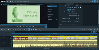 Audio Keyframing in Magix Video Edit Pro Plus