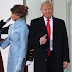 Donald & Melania Trump Arrive Washington for Inauguration [photos & video)
