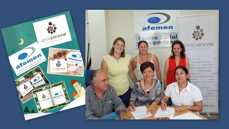 Convenio de Colaboración entre Spiral Personal & AFEMEN