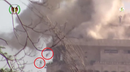 Video: Pasukan Syiah Hancur Berkeping-keping Terkena Meriam Cannon di Kota Tua Aleppo