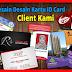 Menerima dan Melayani  Jasa Membuat / Cetak  ID CARD MURAH