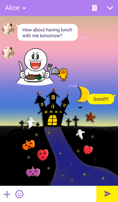 Theme of Halloween that you are Puku'