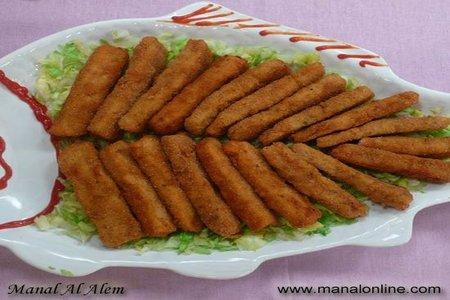 أصابع السمك المقلية - مطبخ منال العالم