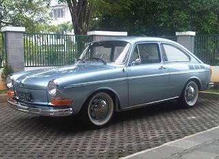 KOLEKSI MOBIL ANTIK DIJUAL : VW type 3 Hatchback 1968 Restorasi