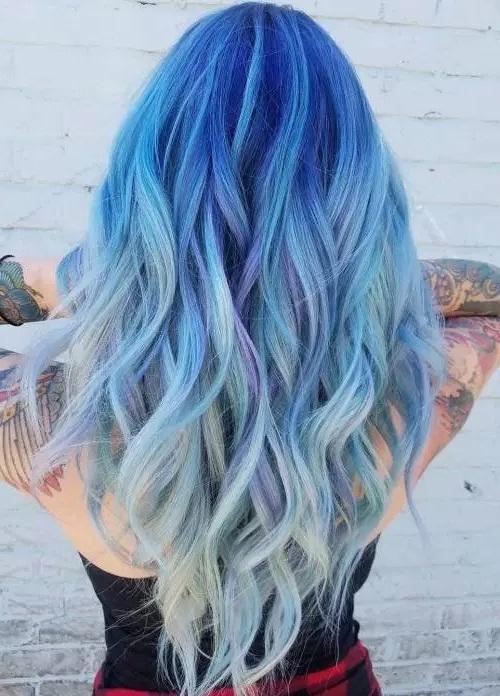 Ocean Hair Trend Is Taking Blue Hair Beauty Tips Advisors