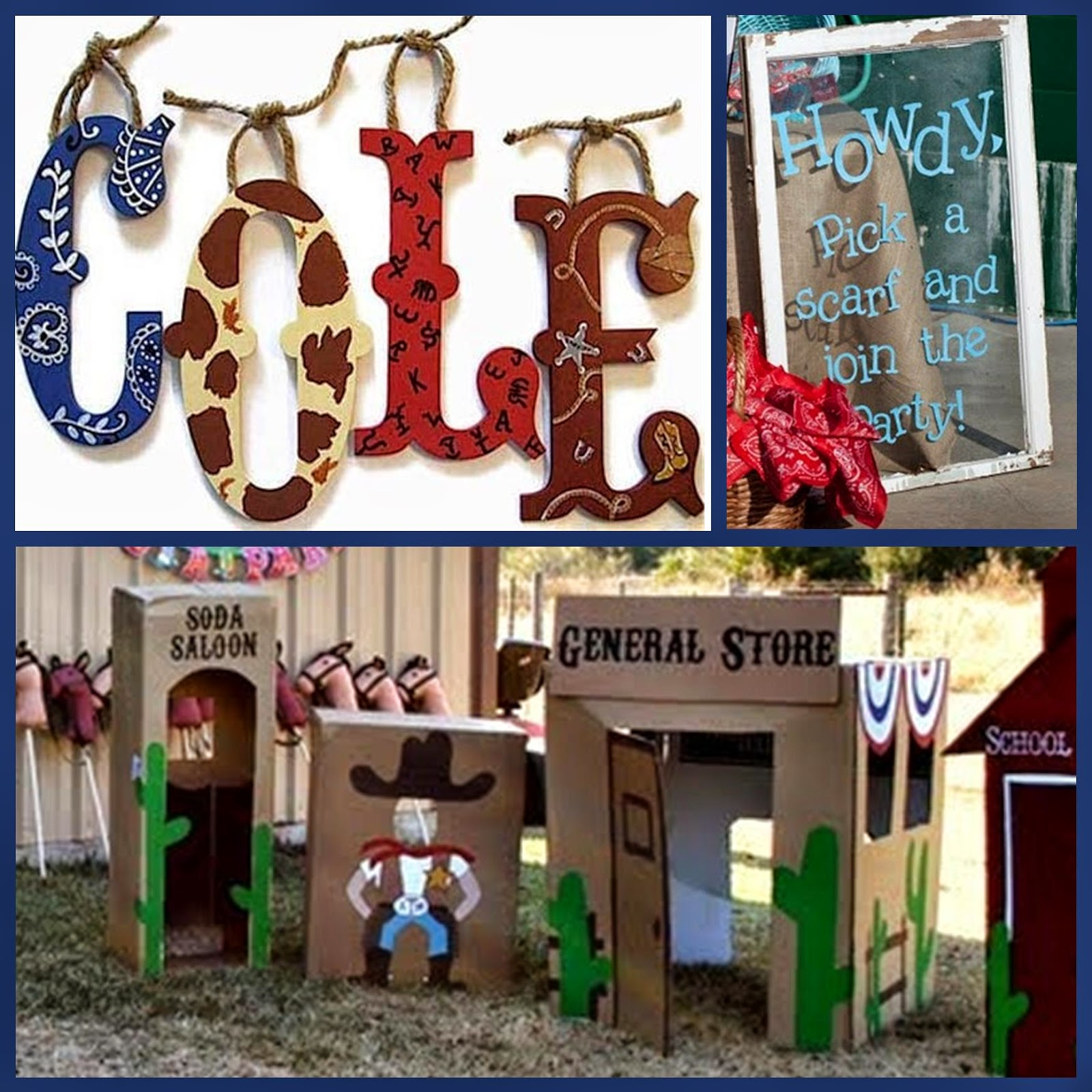 Adult Western Theme Decorating Ideas
