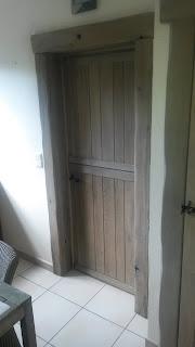 gerenoveerde deur