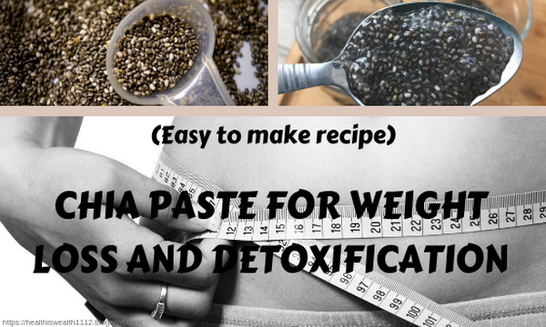 Chia Paste For Wight Loss And Detoxfication
