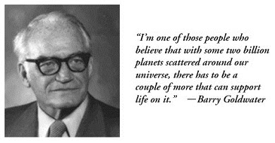Barry Goldwater with Quote
