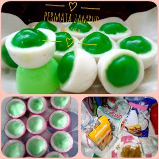 Resep Membuat Kue Permata Zambrud