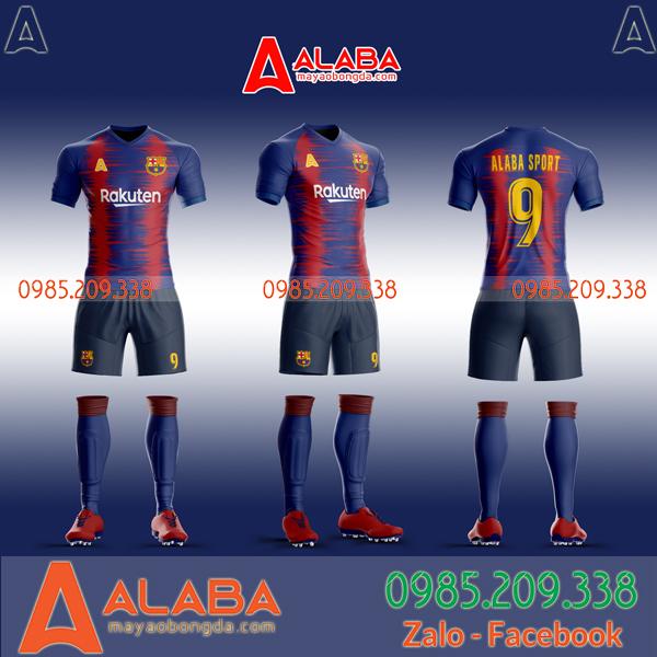 Áo Barca tự thiết kế mã ALB BA06 hot