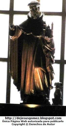 Foto de Santo Domingo de Guzmán en escultura tomada por Jesus Gómez