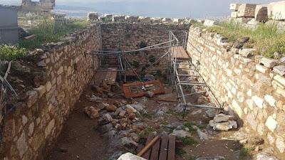 Ακρόπολη: Οι ζημιές που άφησε ο κεραυνός στον αρχαιολογικό χώρο