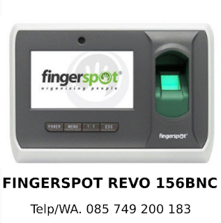 Distributor Mesin Absensi Fingerspot Revo 156 BNC Asli Terbaik