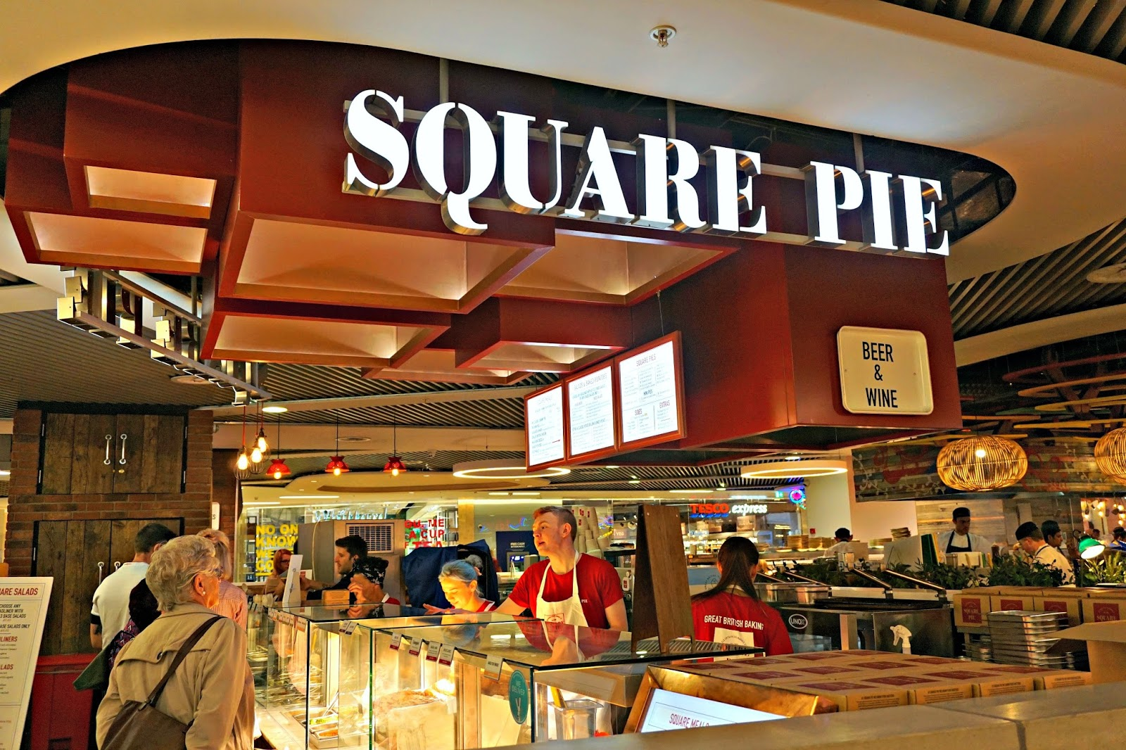 Square Pie Restaurant Birmingham Grand Central Food Review Menu