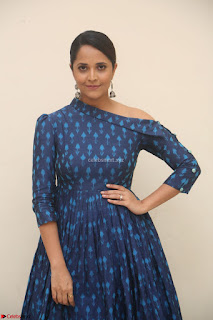Anchor Anasuya in a Blue Gown at Jai Lava Kusa Trailer Launch ~  Exclusive Celebrities Galleries 012.JPG
