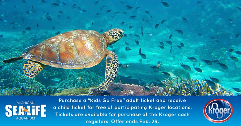 An Official Ticket Outlet. Kroger continues to support the Zoo's public awareness efforts by serving as an official park ticket outlet, offering discounted Zoo and Zoombezi Bay tickets and memberships at their stores across central Ohio.